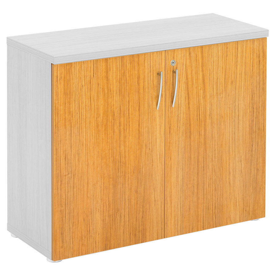 Regent 800H Cupboard Doors - Light Walnut