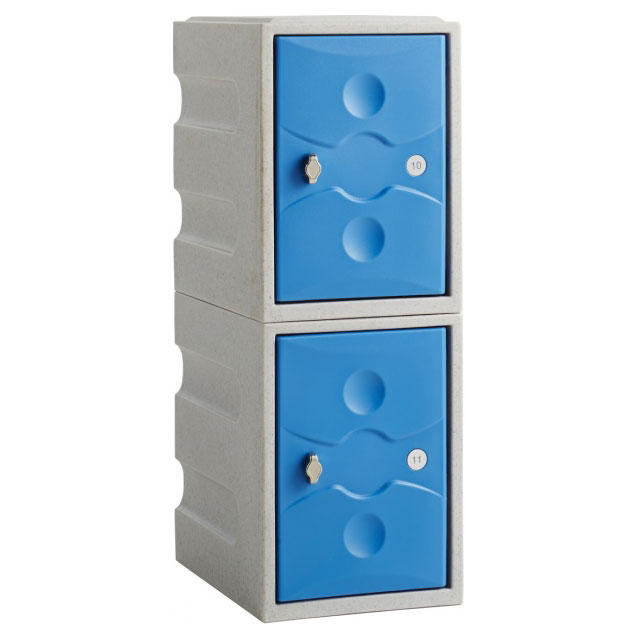 ULTRABOX® PLUS+ Two Door Mini Plastic Locker