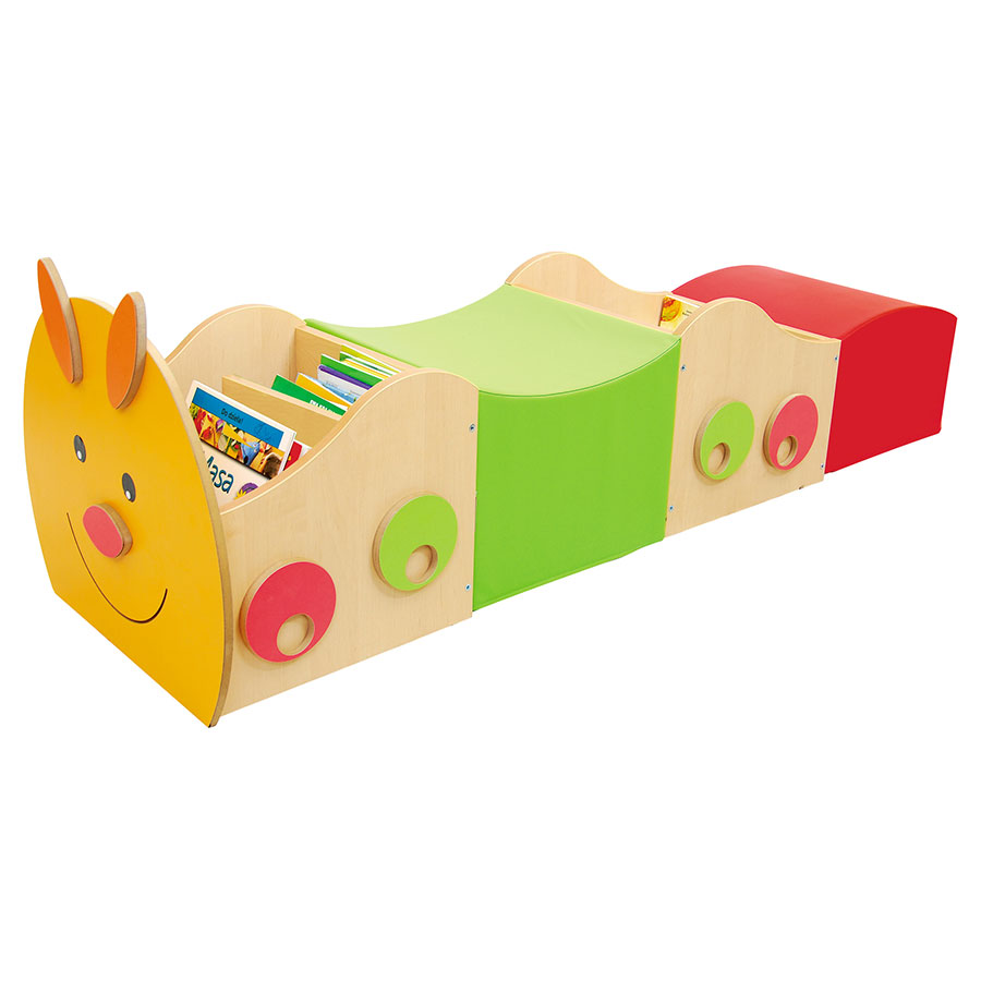 Children's Book Caterpillar - Book Store + Seating