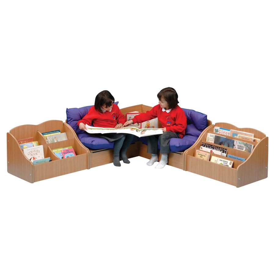 Childrens Reading Corner Set Under Seat Store