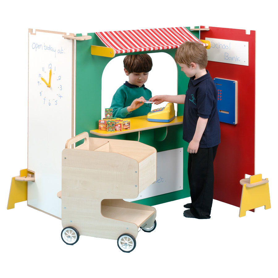Children's Supermarket Stall Set - Multi-Colour
