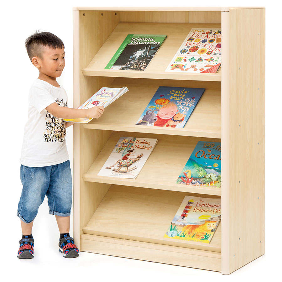 Elegant Sloping Book Display