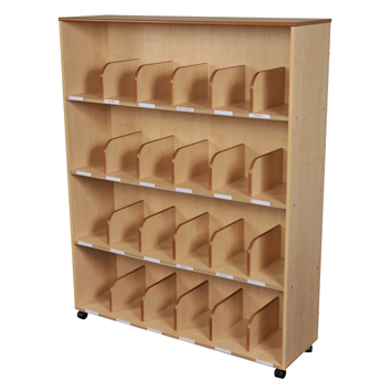 Maple Office Bookcase
