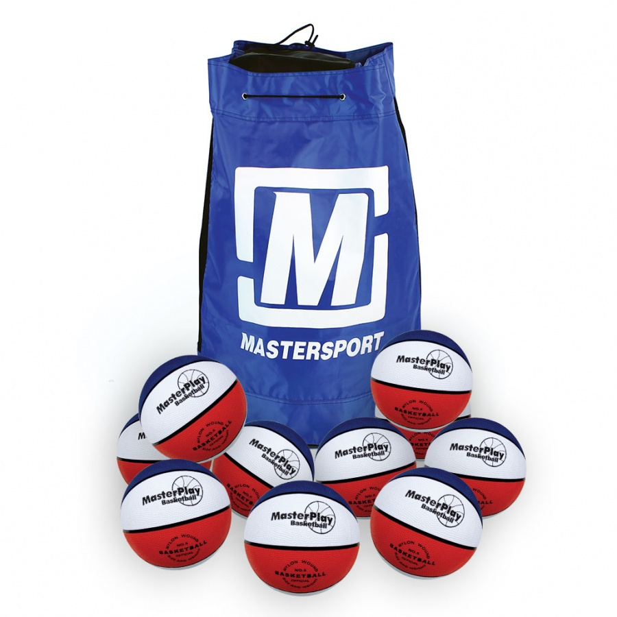 MasterPlay Basketball - Sack Of 10