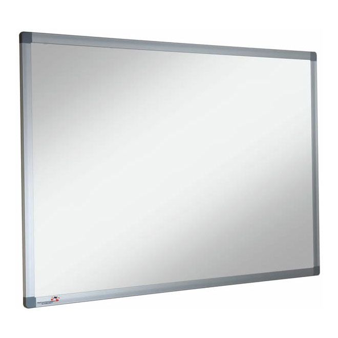 Non-Magnetic Classroom Whiteboard + Pen Tray
