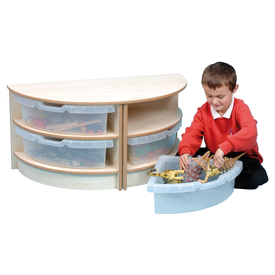 Primary 2 High Semi-Circle Unit + Trays