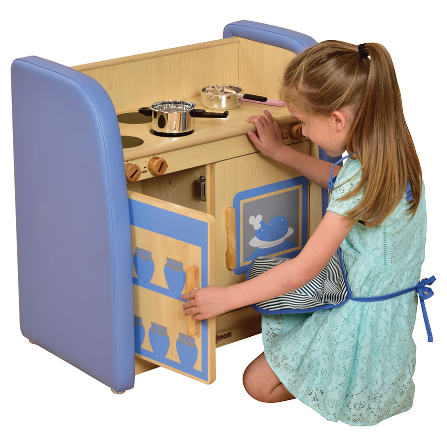 Safespace Padded Nursery Kitchen Cooking Unit