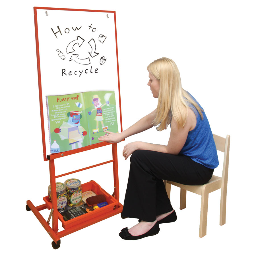Single Boarded Mobile Easel - Portrait