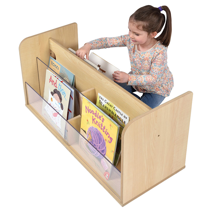 Solway Children's Double-Sided Perspex Book Box