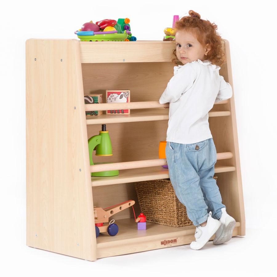 Toddlers Nursery Den 3 Shelf Cabinet