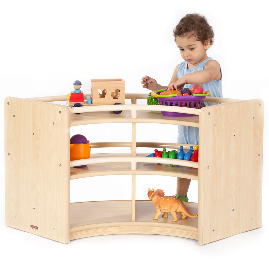 Toddlers Nursery Den - Curved Cabinet