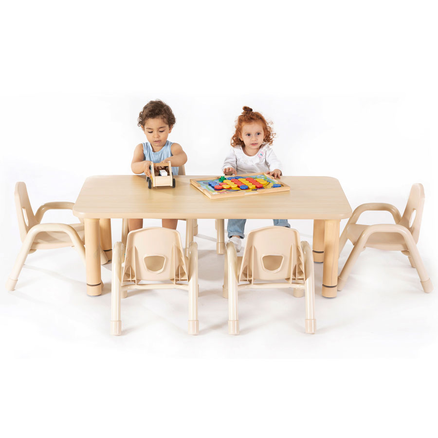 Toddlers Nursery - Rectangular Table
