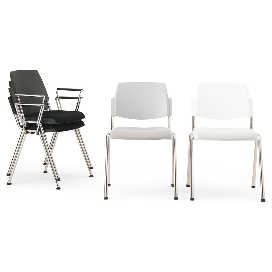 Volee 4-Leg Chair + Seat Pad