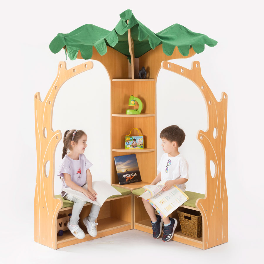 Zona Children's Library - Tree House Library Corner