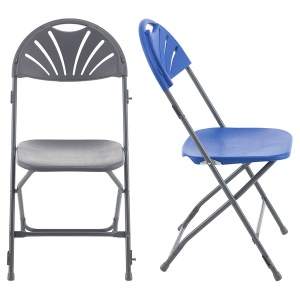 Titan Linking Fan Back Folding Chair