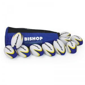 MasterPlay® Trainer Rugby Ball - Bag Of 10