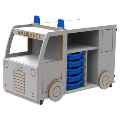 Micro Ambulance Library Book Store & Display