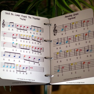 Outdoor Music Book (8 songs)