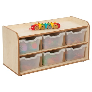 Solway Primary Cubby 3 x 2 Tray Unit