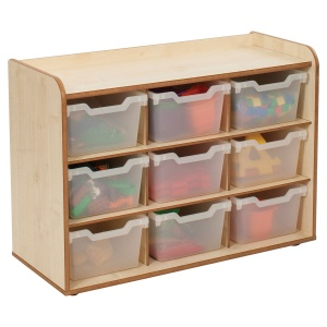 Solway Primary Cubby 3 x 3 Tray Unit