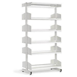 Technic Double Sided Metal Library Shelving