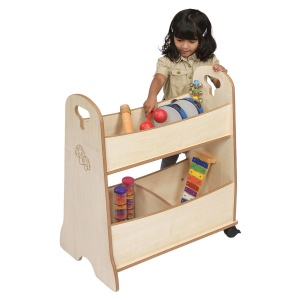 ''Toddle'' Mobile Storage Unit