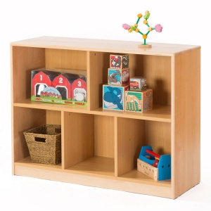 Zona Children's Library - 5 Compartment Unit