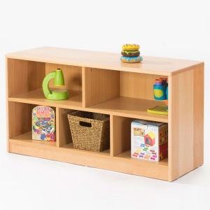 Zona Children's Library - Low 5 Compartment Unit