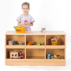 Zona Children's Library - Low Book / Toy Storage