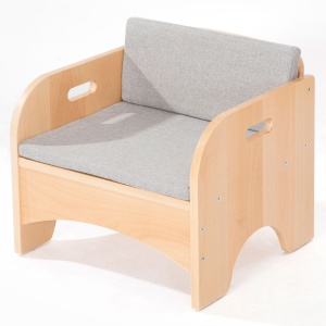 Zona Children's Library - Reading Armchair + Cushion