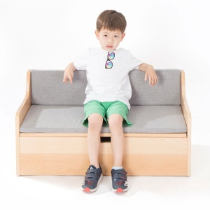 Zona Children's Library - Reading Sofa + Storage