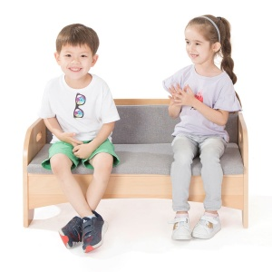 Zona Children's Library - Reading Sofa + Cushion